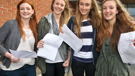Eleanor Furlong, Daisy Warneford-Thompson, Sophie Davies and Wizzy James.