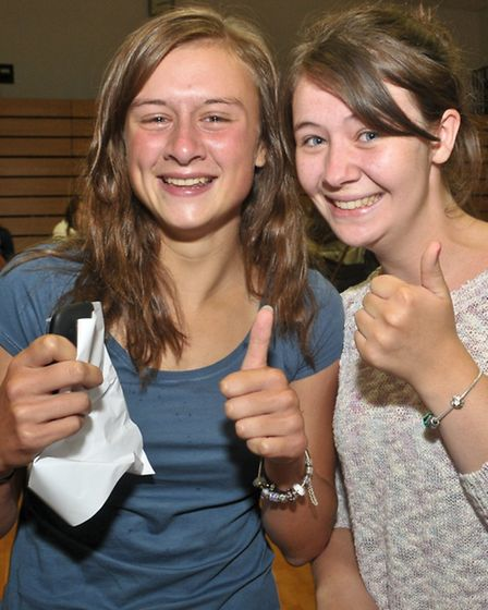 Bethan Wakefield and Sophie Wootten.