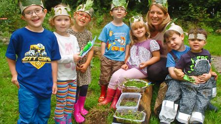 opening of new business called Nature Kids.