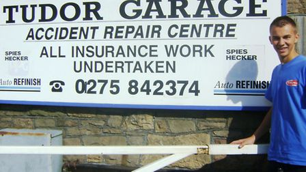 Joe is the latest apprentice at the garage