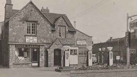 Tudor Garage in 1959
