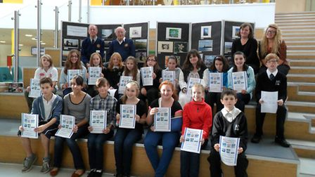 Nailsea School students who entered a photograph competition.