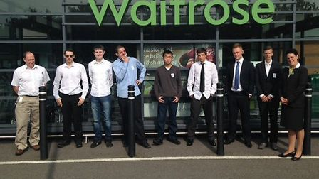 Waitrose is helping young people get into work.