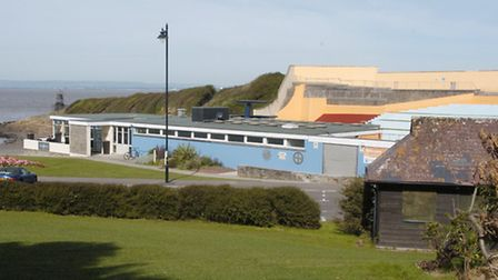The restaurant is at Portishead Open Air Pool