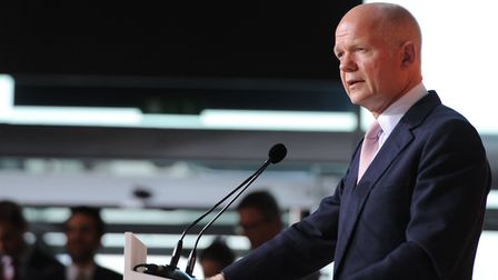 William Hague speaks at The Global Summit to end Sexual Violence in Conflict