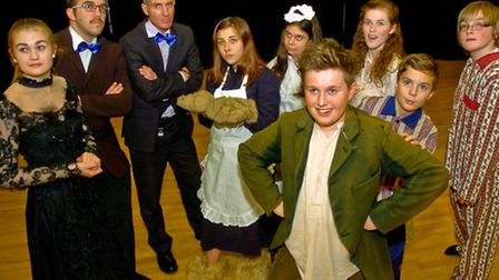 Dress Rehearsal for Peter Pan.