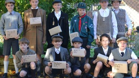 Pupils from Fairfield School spent the day learning what life was like in World War Two.