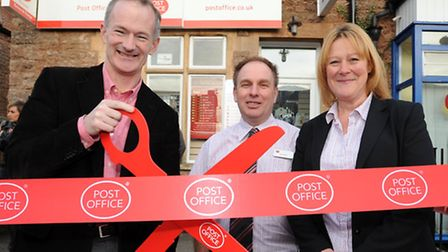 The new Post Office in Winscombe