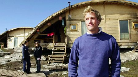 Ben Fogle back in 2000 appearing on the show Castaway. Photograph: Ben Curtis/PA.