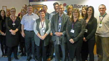 Alliance Homes has recieved the Investors in People gold award