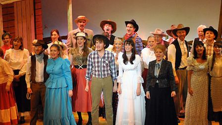 Worle Operatic Dramatic Society during a previous production at The Playhouse.