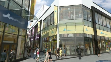 Dolphin Square's leisure sector is due to open in Easter 2015