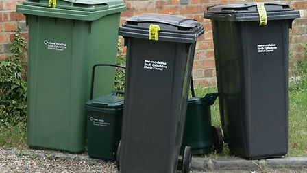New bin cleaning service.