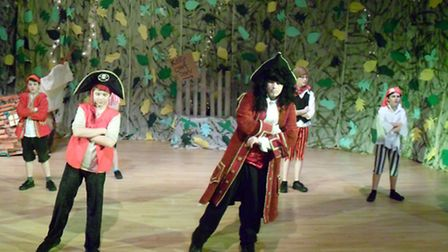 Popular show Peter Pan was put on by students from Nailsea School.