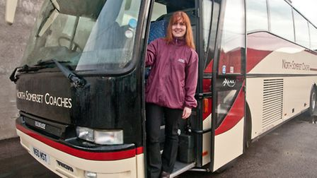 Carolyn Alderton new owner of North Somerset Coaches.