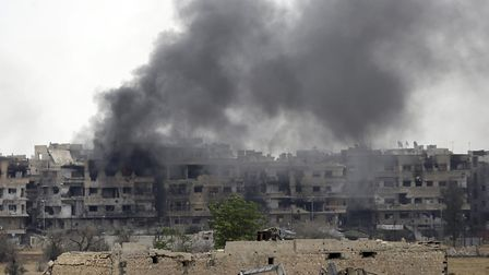 The conflict in Syria. Photo: LOUAI BESHARA/AFP/Getty Images