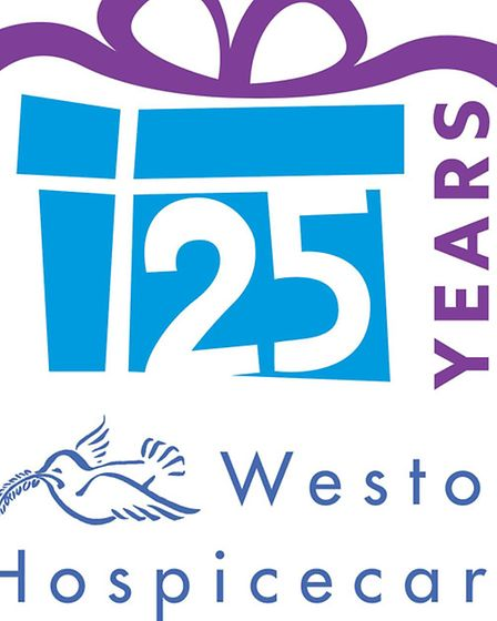 Weston Hospicecare is 25 years old today.