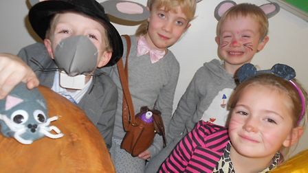 Xavier and Jacob (left to right back), Jack and Max (left to right front)