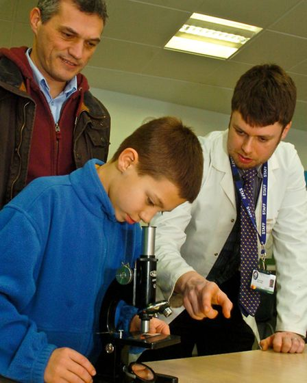 Nailsea School, Science, technology, engineering and maths event.