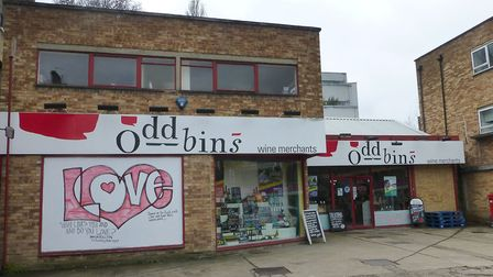 An Oddbins in Crouch End, North London
