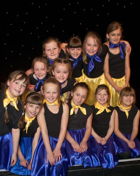 Weston Playhouse. Kingshill Church School pupils performing at North Somerset Dance Show.