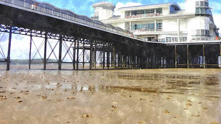 This picture of the Grand Pier by Paula Palmer was sent into iwitness24.