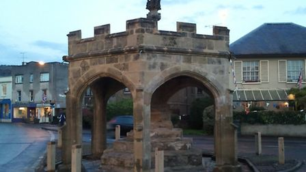 This picture of Cheddar market cross was sent into iwitness by Paul Cousins.