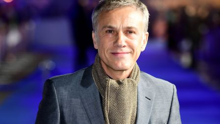 Christoph Waltz talks about his frustration surround Brexit. Photograph: Ian West/PA.