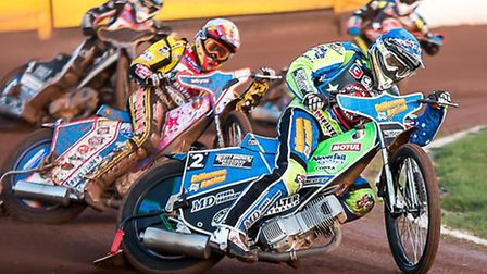 Todd Kurtz in action for Somerset Rebels against Peterborough Panthers