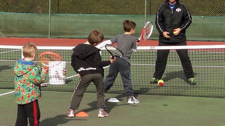 Cheddar Tennis Club coaching.