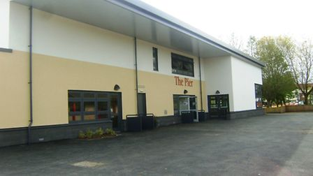 The new building at St Peter's Primary School.