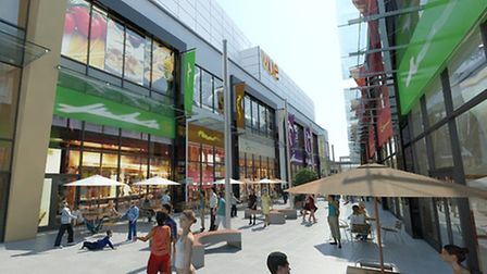 Artist's impression of the new Dolphin Square.