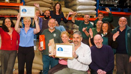 Staff at Martin Carwardine ,Pear Tree Industrial Estate, Langford who have won awards at the Taste o