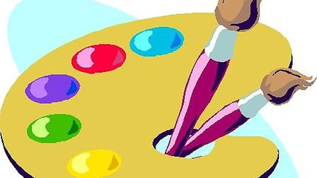 The youngsters can pick up points for paintng and other tasks.