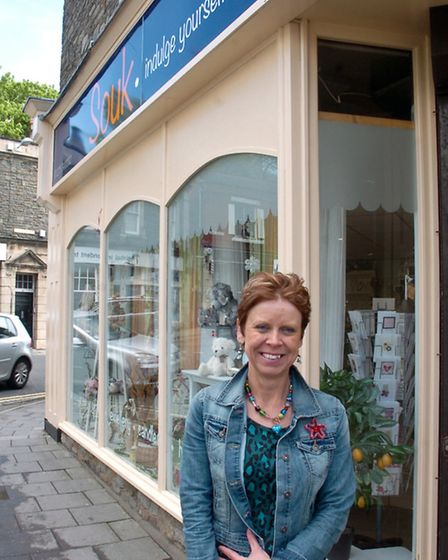 Souk The Triangle Clevedon LIz Fox.