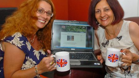 Amanda Davies and Gill Sims who have set up a new business GB Artisans.
