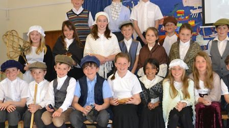 Fairfield pupils spent the day as Victorians.