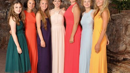 Year 11 pupils from Nailsea prepare to let their hair down at their leavers' ball.