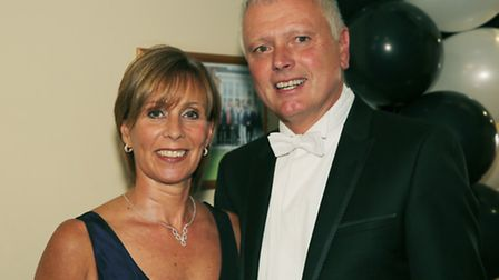 Worlebury Golf Club captain and wife.