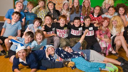 St Francis School, Nailsea. Year six production, 'Let Loose' about a comically chaotic school camp.