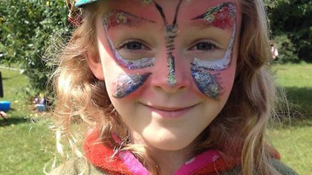 Fun and face painting at Hannah More and Grove school's joint summer fair.
