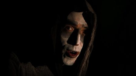 James Delingpole started the This Week discussion dressed as a zombie. Photograph: BBC.