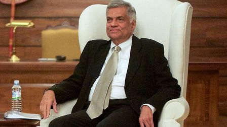 Sri Lankan Prime Minister Ranil Wickremesinghe in the US. Photograph: US Department of State/Flickr.