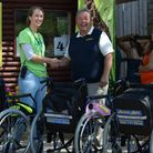 Ashleigh Weller of NAZF and Bob Sansom of Access Able