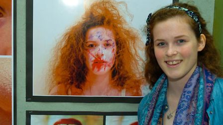 Nailsea School Art and Photography exhibition,Ashleigh Westgate.