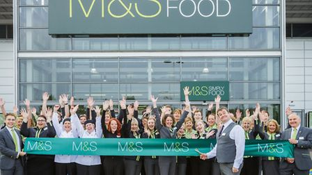The staff opening the new store (Picture: Patch Dolan).