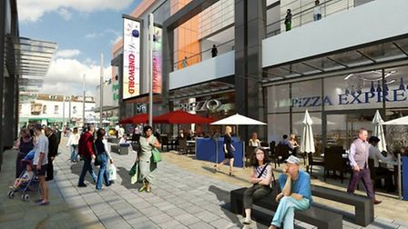 An artist's impression of how the site will look.