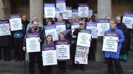 Unison lobbying North Somerset's decision to privatise more services