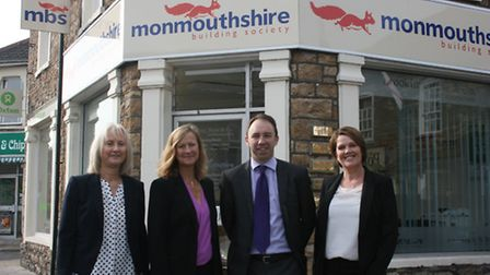 Staff at the new Portishead agency