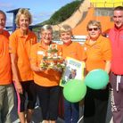 Fundraisers at Portishead Open Air Pool